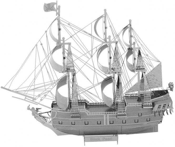 Metal Earth bouwpakket Iconix Black Pearl Pirate Ship