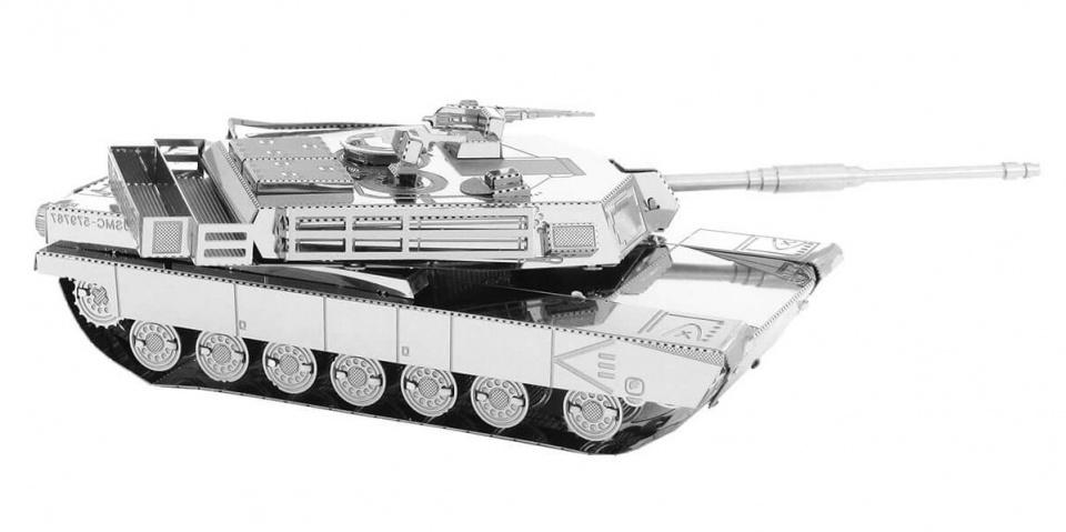 Metal Earth bouwpakket M1 Abrams Tank