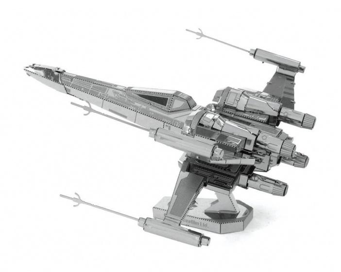 Metal Earth bouwpakket Star Wars EP7 Poe Dameron's X Wing Fighter