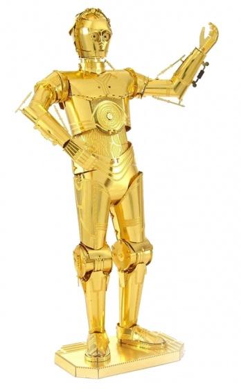 Metal Earth bouwpakket Star Wars Gold C 3PO