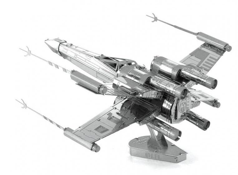 Metal Earth bouwpakket Star Wars X Wing