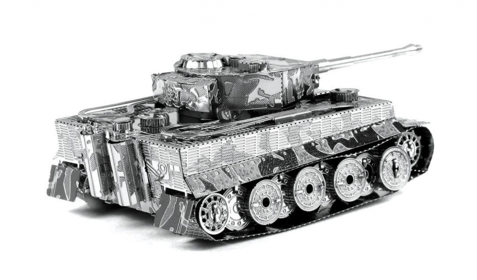 Metal Earth bouwpakket Tiger I Tank