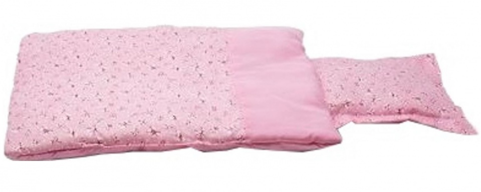 Mini Mommy bedset poppen roze 40 cm