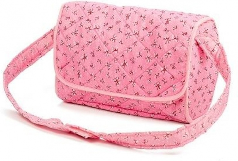 Mini Mommy Nursery bag roze 4 delig