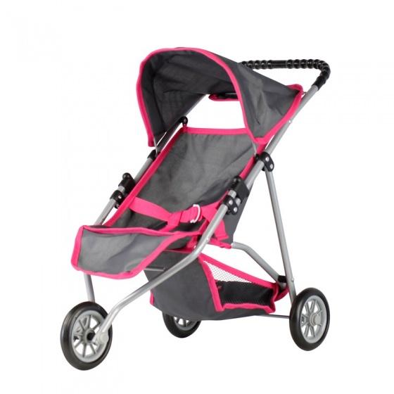 Mini Mommy poppenbuggy Jogger grijs 56 x 30,5 x 50 cm