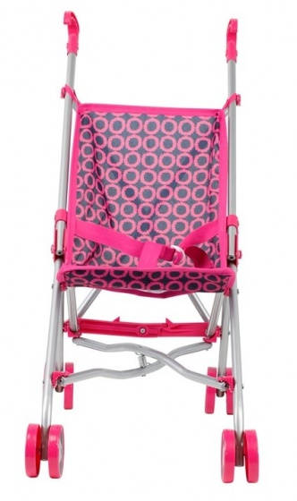 Mini Mommy poppenbuggy roze 51 x 26,5 x 55 cm