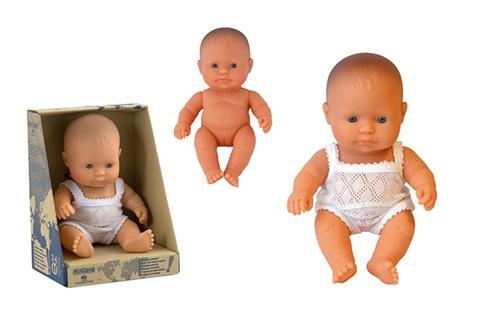 Miniland Babypop Europees Meisje 21 cm