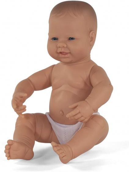 Miniland babypop jongetje met vanillegeur 40 cm
