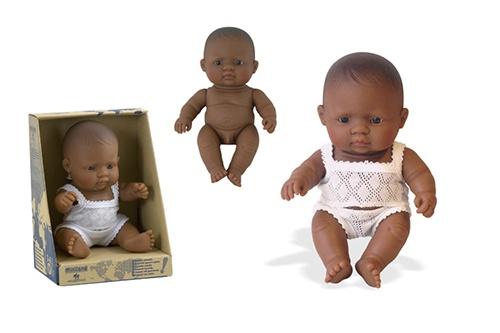 Miniland Babypop Latijns Amerikaanse Jongen 21 cm