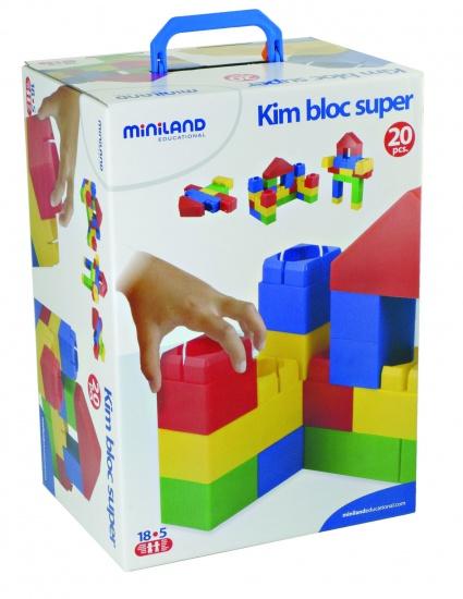 Miniland Bouw Blokken KIM Bloc Super 20 Delig