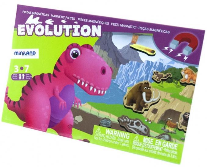 Miniland magneetspel Evolution 20 delig