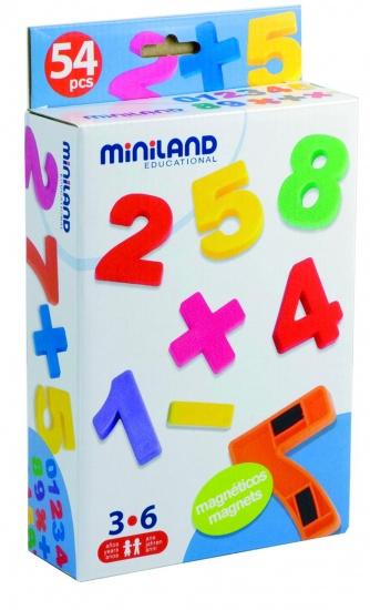Miniland Magnetische Cijfers 54 Stuks