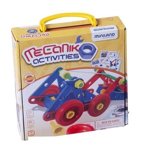 Miniland Mecaniko Bouwset 81 Delig