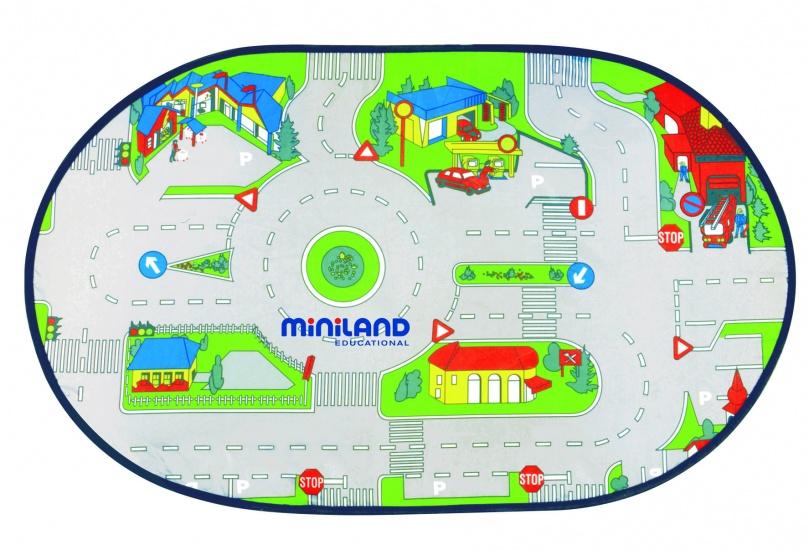 Miniland Minimobil Verkeerskleed 90 X 150 cm