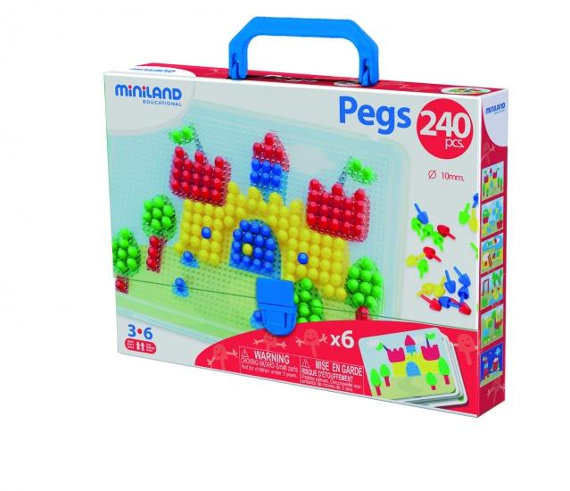Miniland Pegs 10mm
