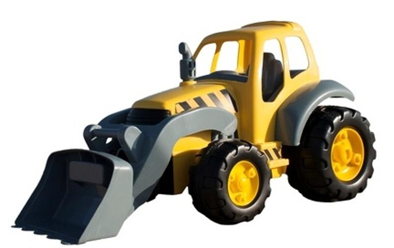 Miniland super graaf machine geel 58 x 34 x 32cm