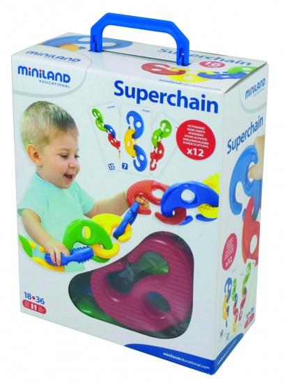 Miniland Superchain: Mijn Eerste Ketting 16cm