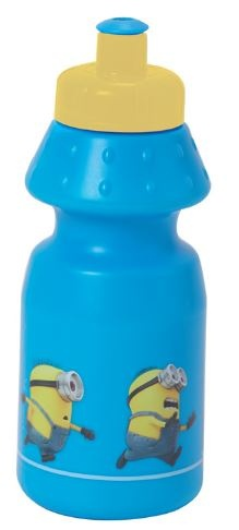 Minions Bidon kunststof 350 ml blauw