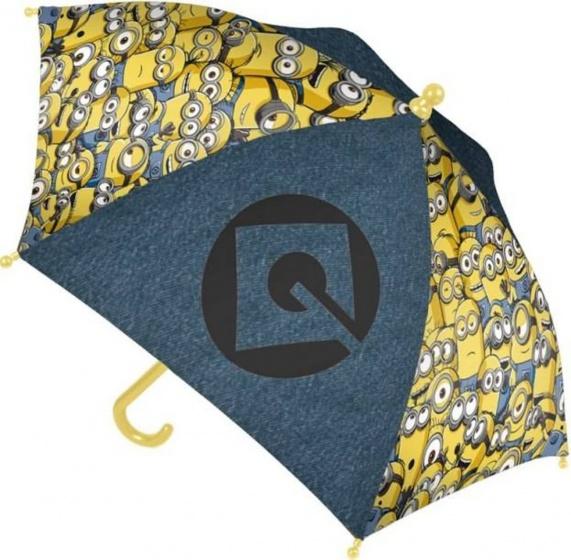 Minions kinderparaplu blauw/geel 66 cm