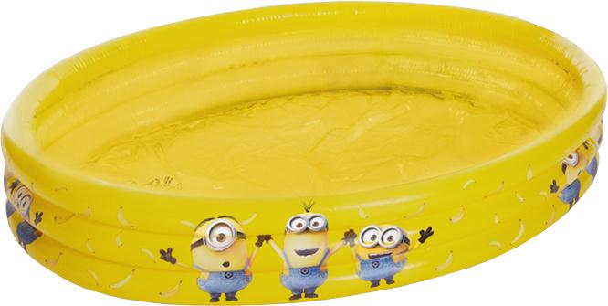 Happy People opblaaszwembad Minions 100 x 23 cm geel