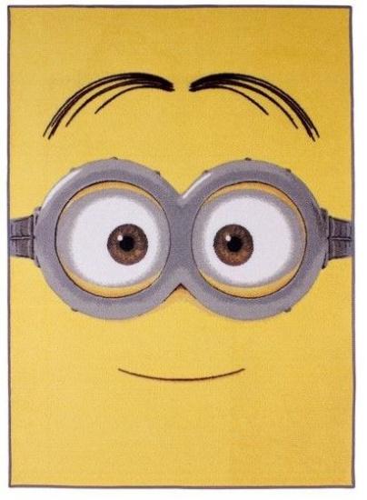 Minions Speelkleed 95 x 133 cm Dave geel