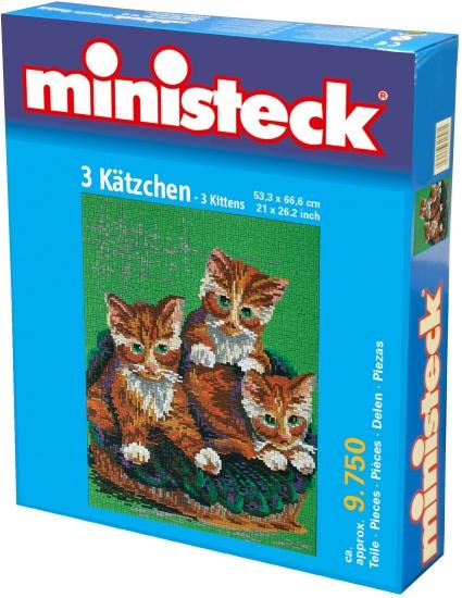 Ministeck drie katten 9700 delig