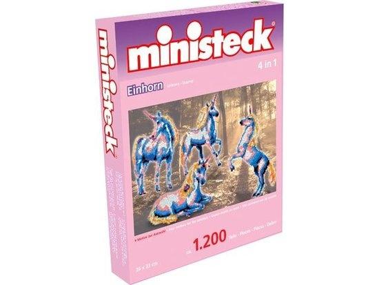 Ministeck eenhoorns 4 in 1 1200 delig