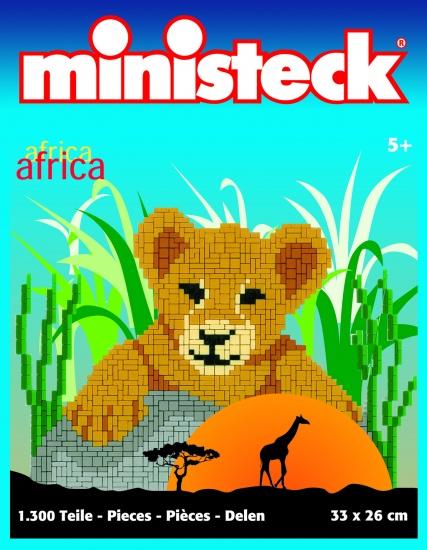 Ministeck Afrika 1300 delig