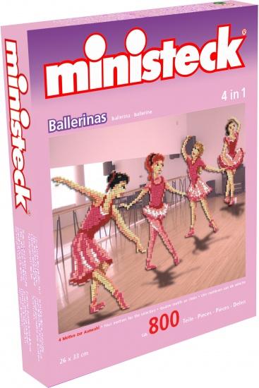 Ministeck ballerina's 4 in 1 800 delig