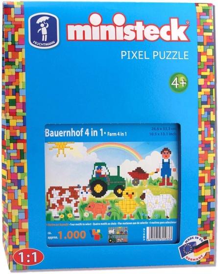 Ministeck boerderij 4 in 1 1000 delig
