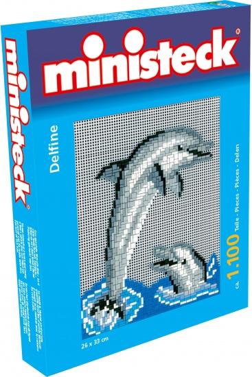 Ministeck dolfijnen 1100 delig