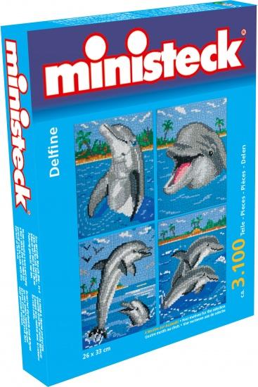 Ministeck dolfijnen 4 in 1 3100 delig