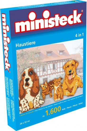 Ministeck huisdieren 4 in 1 1600 delig