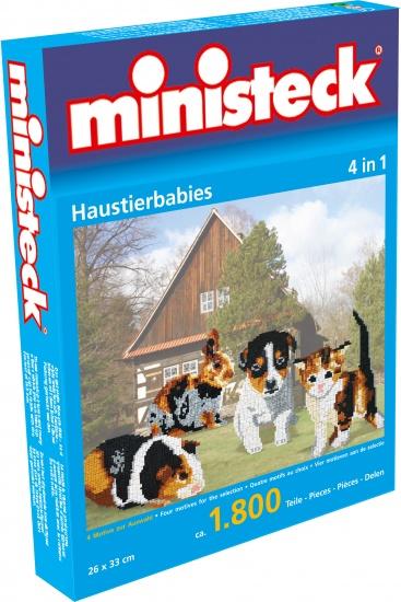 Ministeck huisdieren 4 in 1 1800 delig