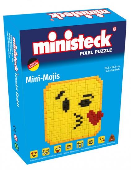 Ministeck mini moji kiss emoticon