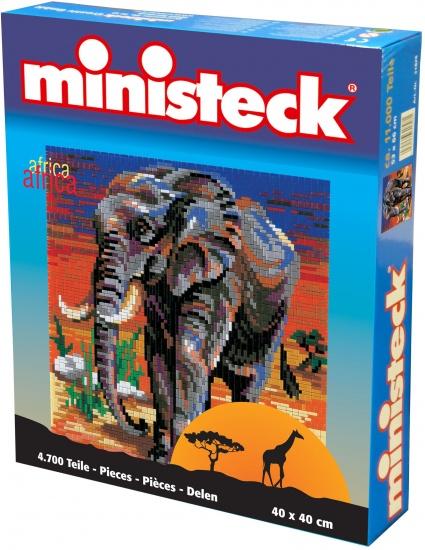 Ministeck olifant 4700 delig