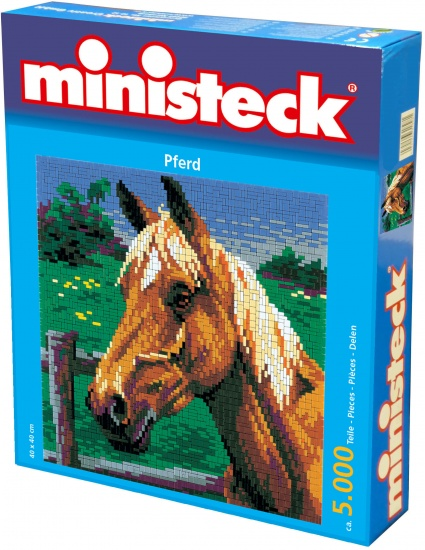 Ministeck paard 5000 delig