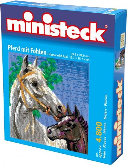 Ministeck paard met veulen 4800 delig