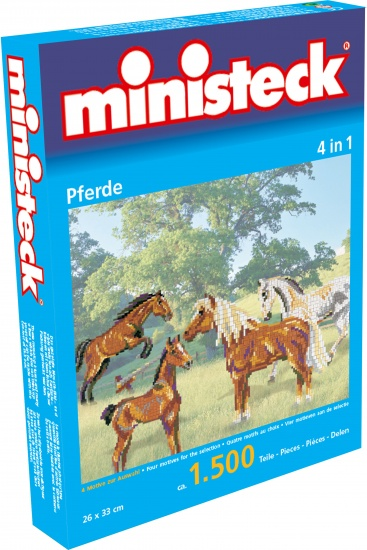 Ministeck paarden 4 in 1 1500 delig
