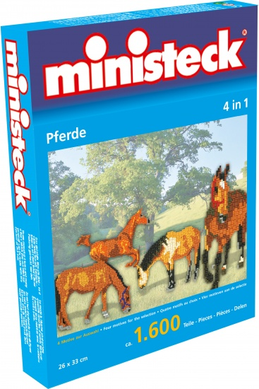 Ministeck paarden 4 in 1 1600 delig