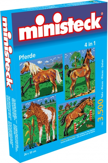 Ministeck paarden 4 in 1 3500 delig