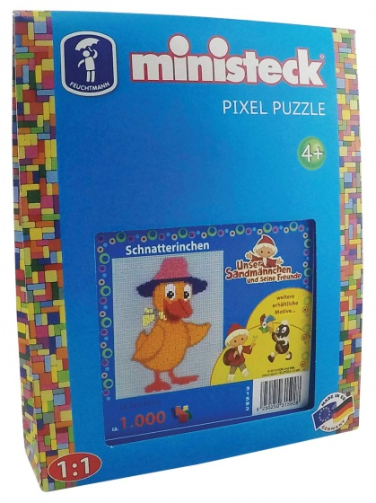 Ministeck pixel puzzel Onze zandman 1000 delig