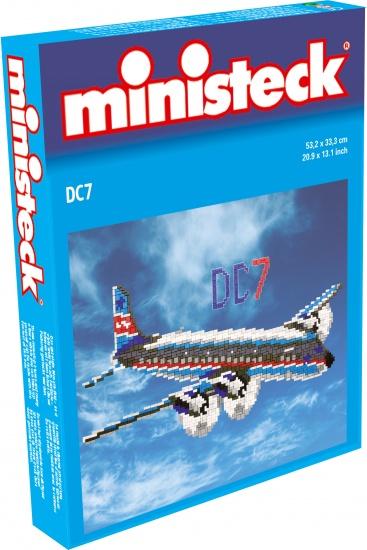 Ministeck propellervliegtuig 1400 delig