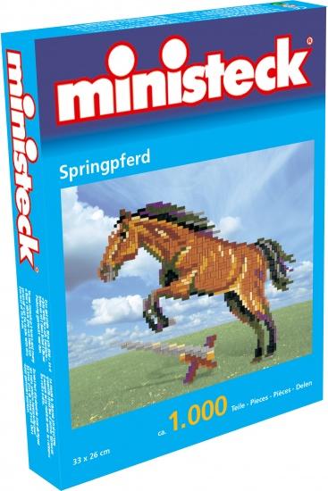 Ministeck springpaard 1000 delig