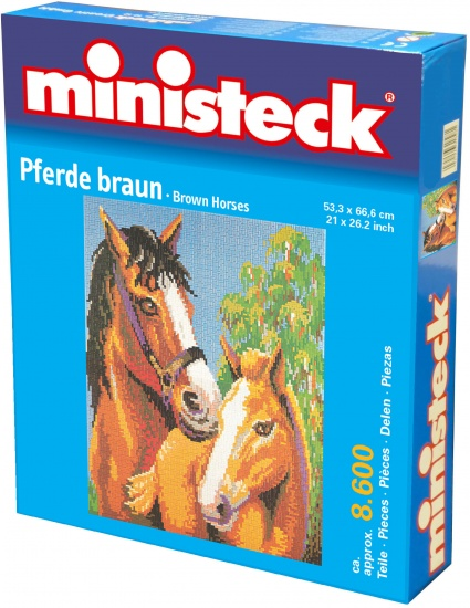 Ministeck twee paarden 8600 delig