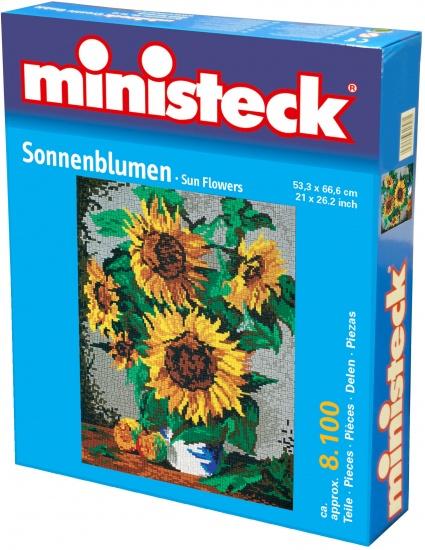 Ministeck zonnebloemen 8100 delig