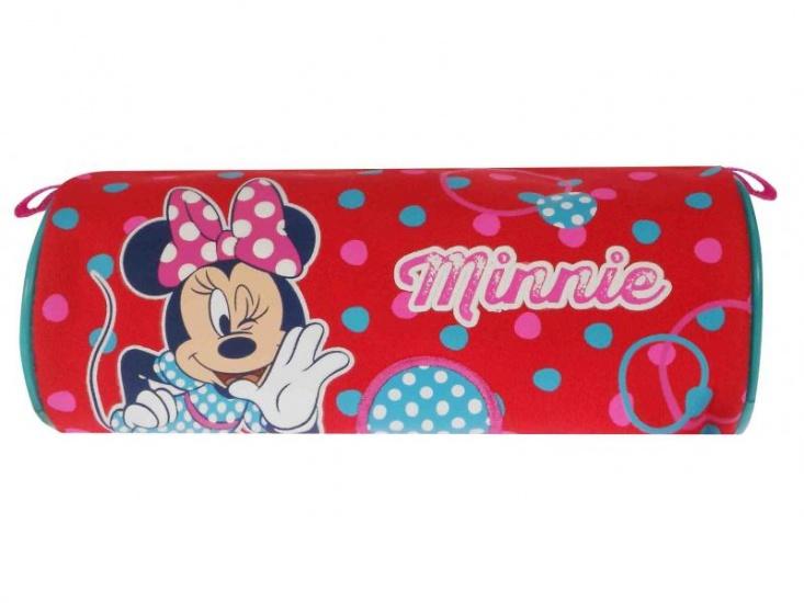Disney Minnie Mouse etui stippen rood