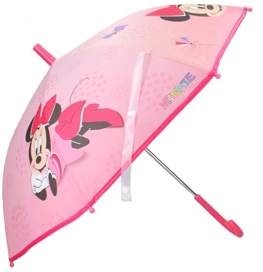 Disney Minnie Mouse kinderparaplu 63 x 70 cm kunststof roze