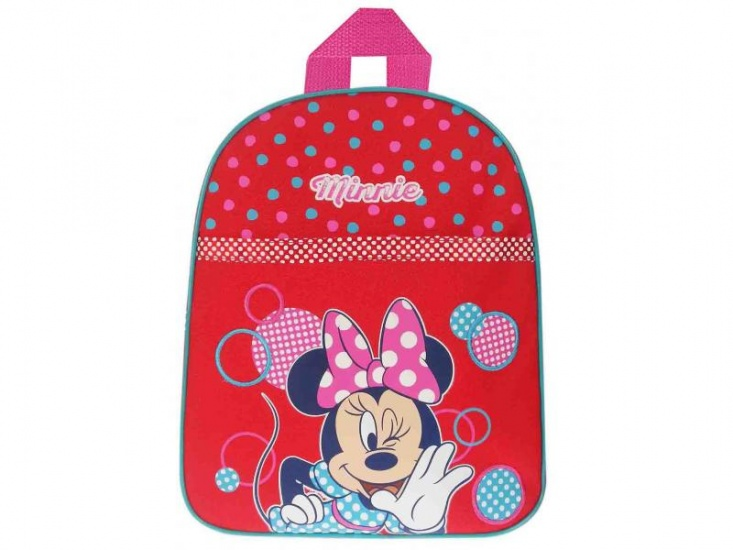 Disney Minnie Mouse rugzak stippen rood 8 liter