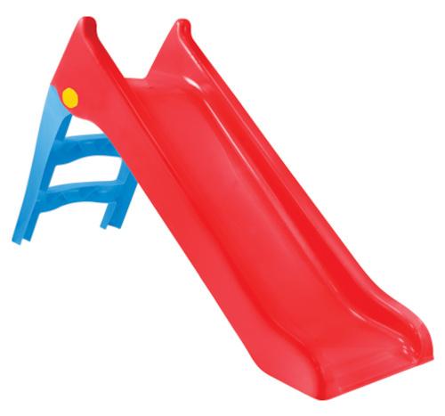 Mochtoys glijbaan junior 148 x 43 cm rood/blauw